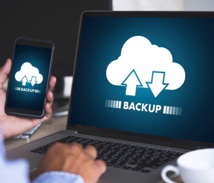 Cloud Backup in process